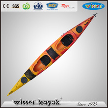Latest Style Sit in Double Kayak Leisure Life Paddle Sea Kayak